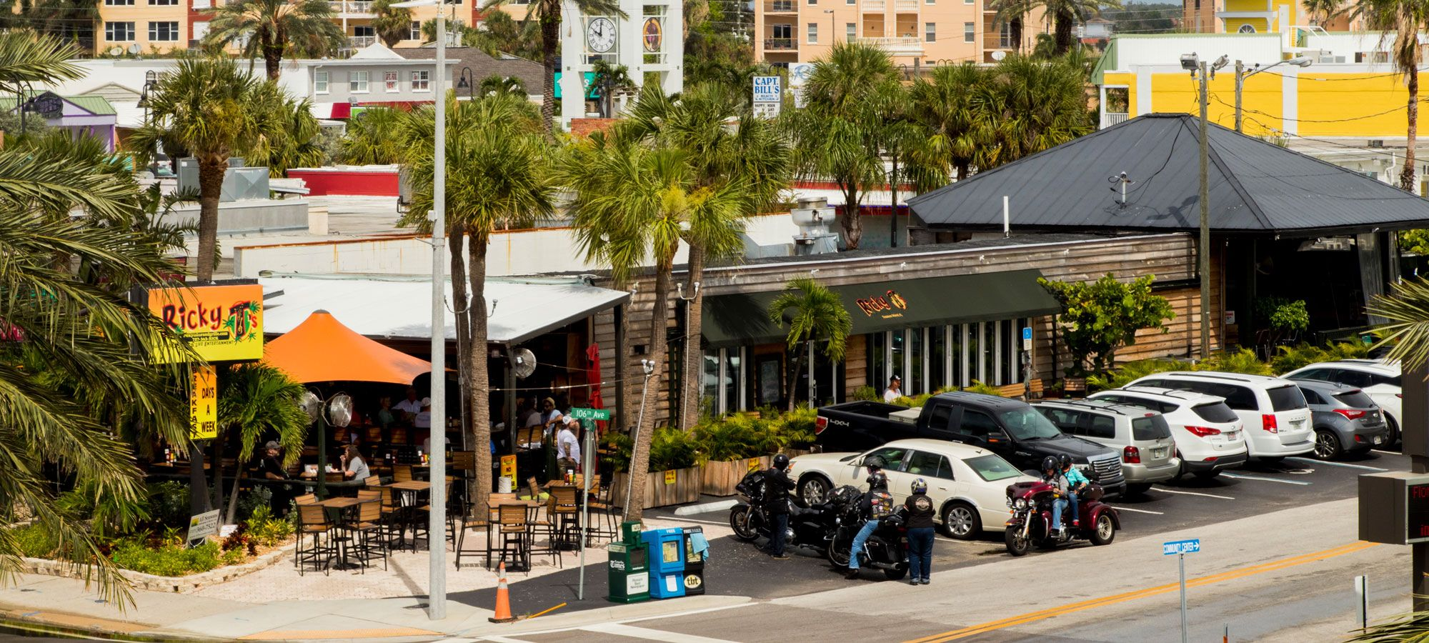 Ricky Ts Bar And Grille Restaurant In Treasure Island Florida