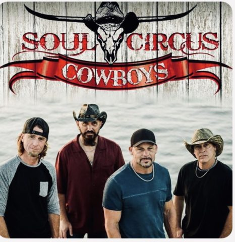 Sanding Ovations Kickoff Party with Soul Circus Cowboys. Live Music from 4 p.m. to Closing! @ Under the Big Tent